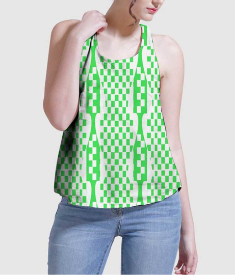 Bella women's printed tank
