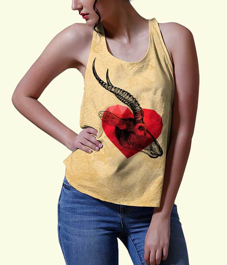 You are deer women's printed tank