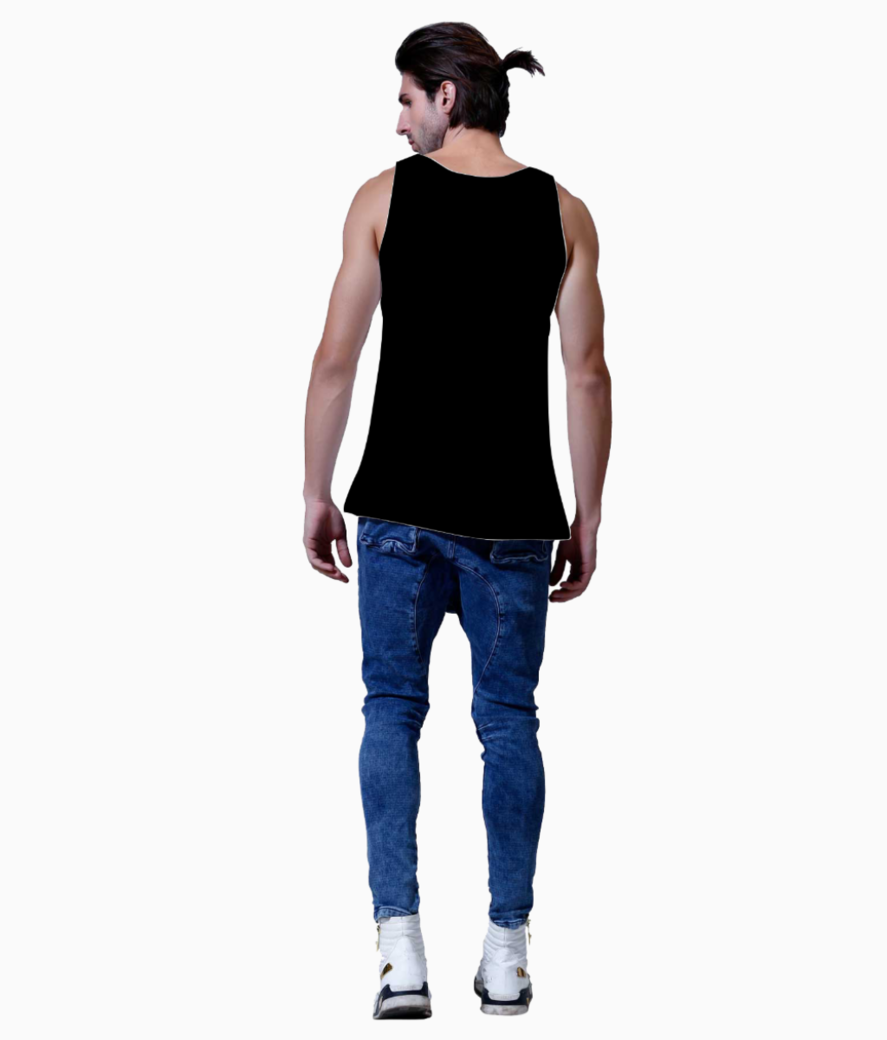 Turn on1127 rectangle vest back