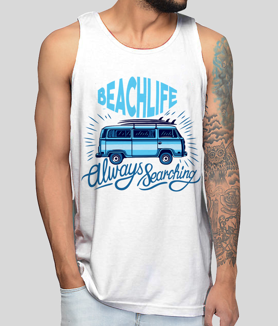 Beach life png front