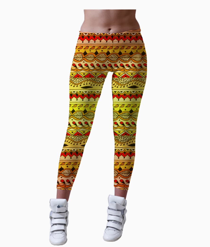 Kurti Design Women S Printed Leggings Redesyn