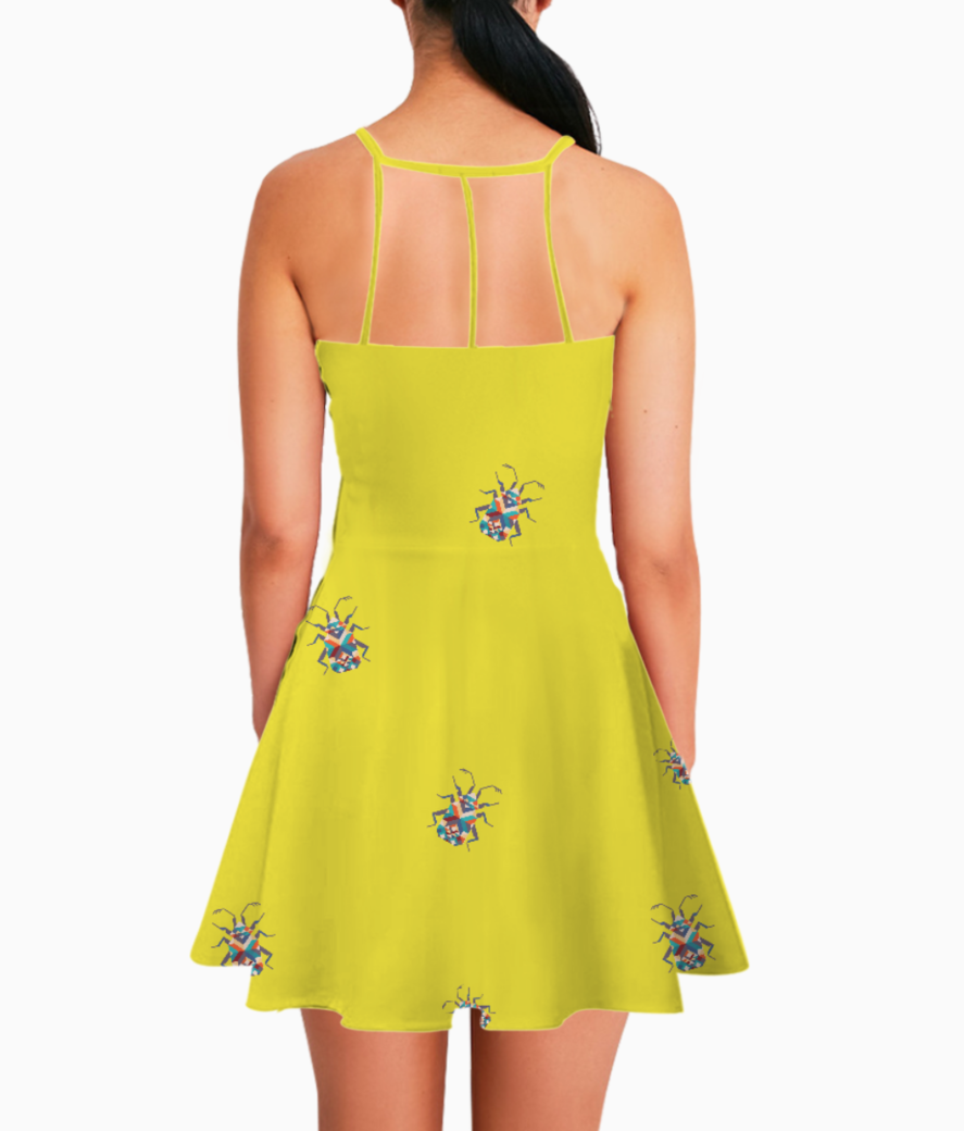 Bug summer dress back