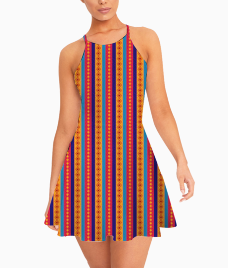 Border traditional1 summer dress front