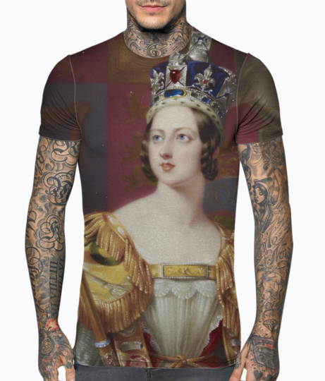 Dronning victoria t shirt front