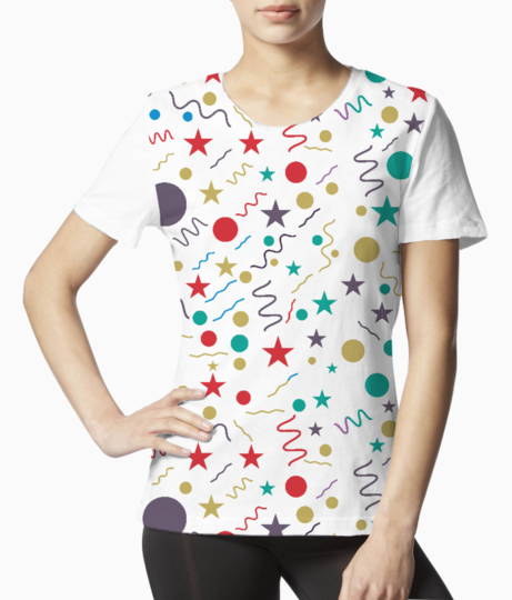 Little shapes tee front
