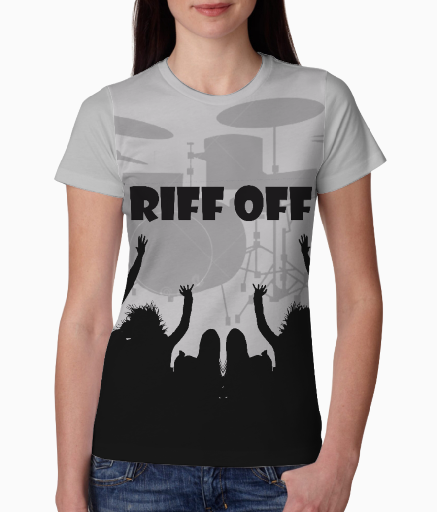 Riff off tee front