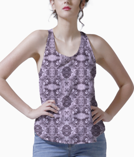 Gray royalty tank front