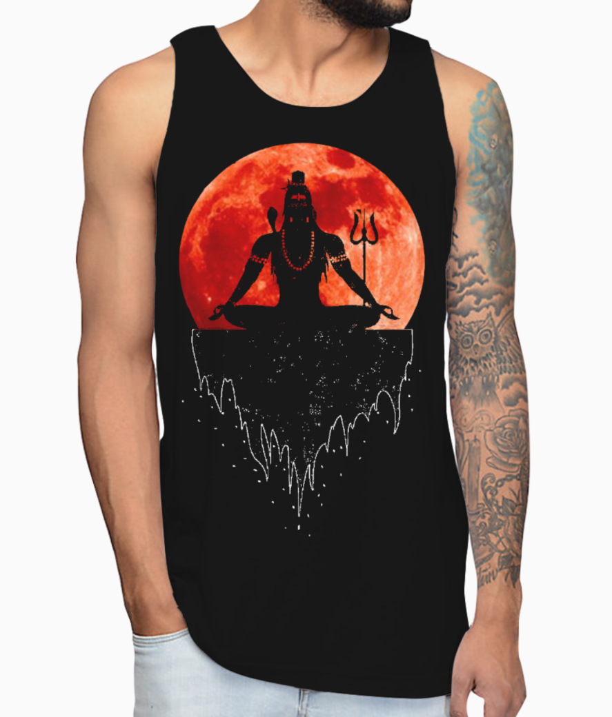 Lord shiva vest front