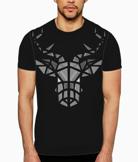 Grayscale t shirt front