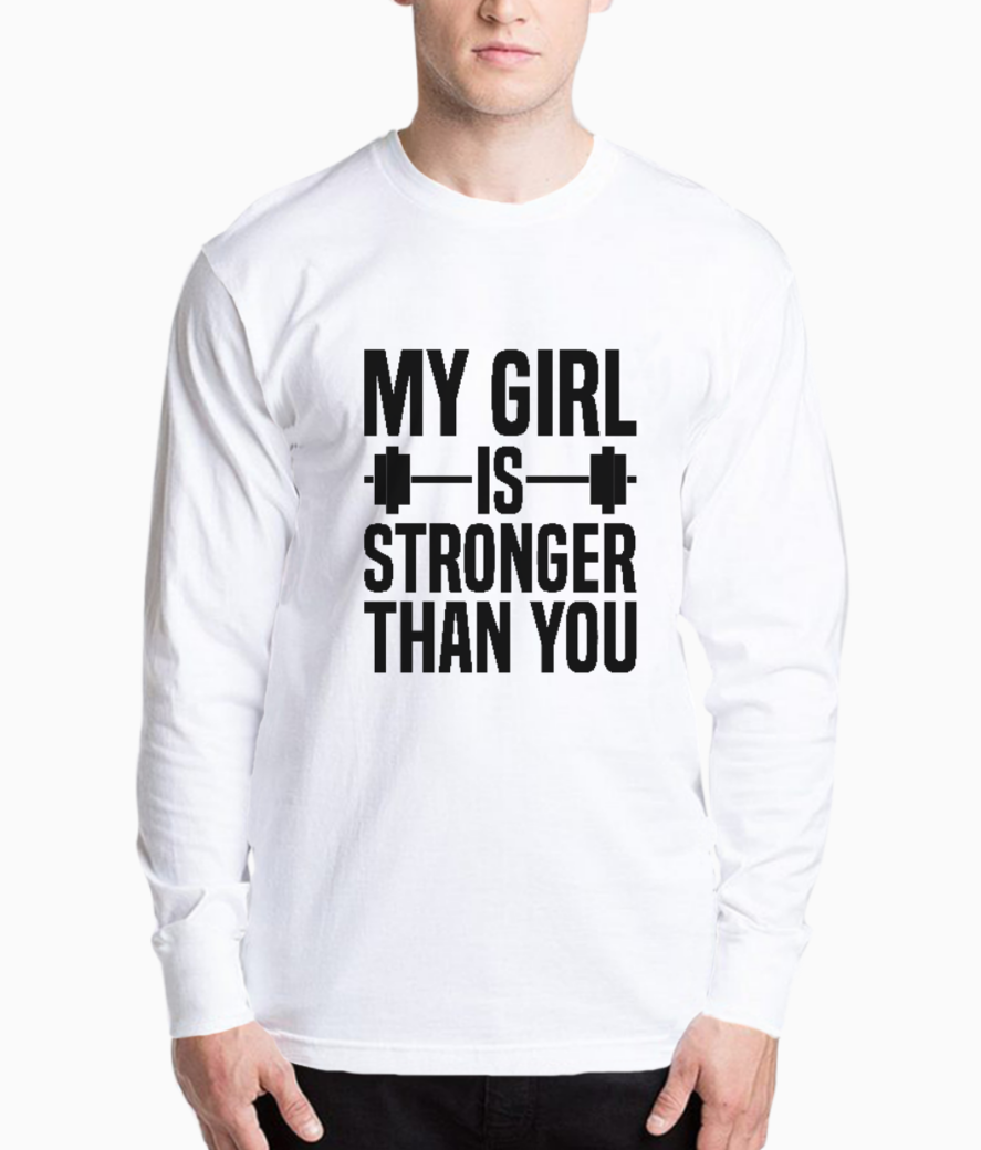 My girl is stronger henley front