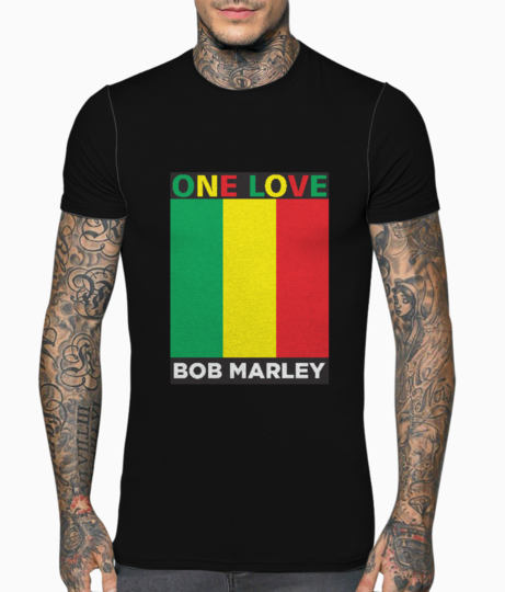 One love t shirt front