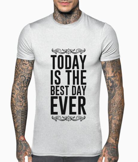 Today best day t shirt front