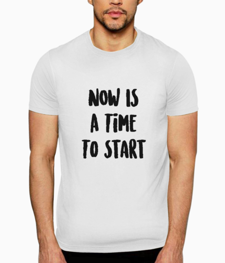 Time to start t shirt front