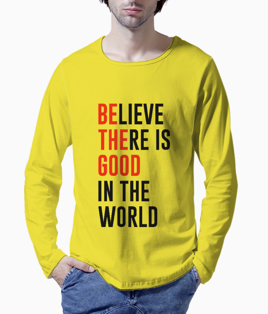 Believe there henley front