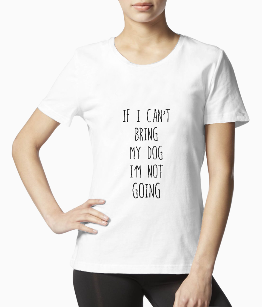 Bring my dog tee front
