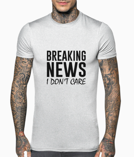 Breaking news t shirt front