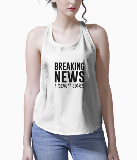 Breaking news tank front