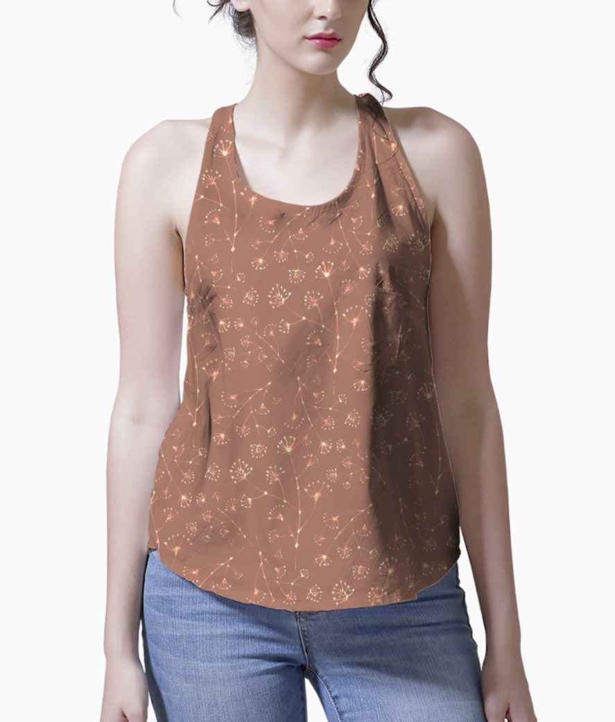 Bright spring tank front