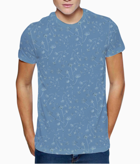 Blue spring t shirt front