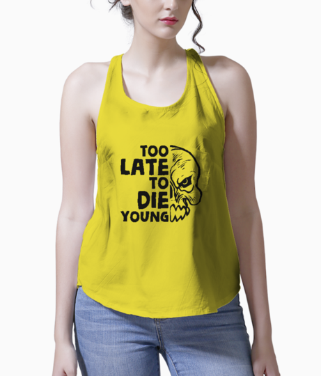 Too late to die tank front