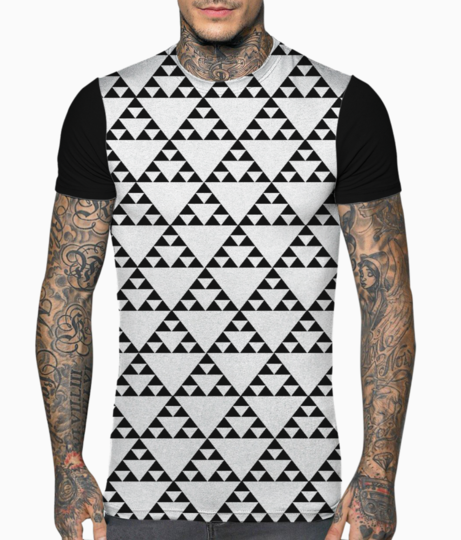 Tribal symbol t shirt front