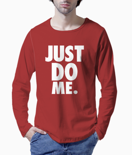 Just do me typography henley front