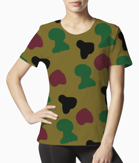 Camo new tee front