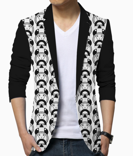 Pet dog blazer front