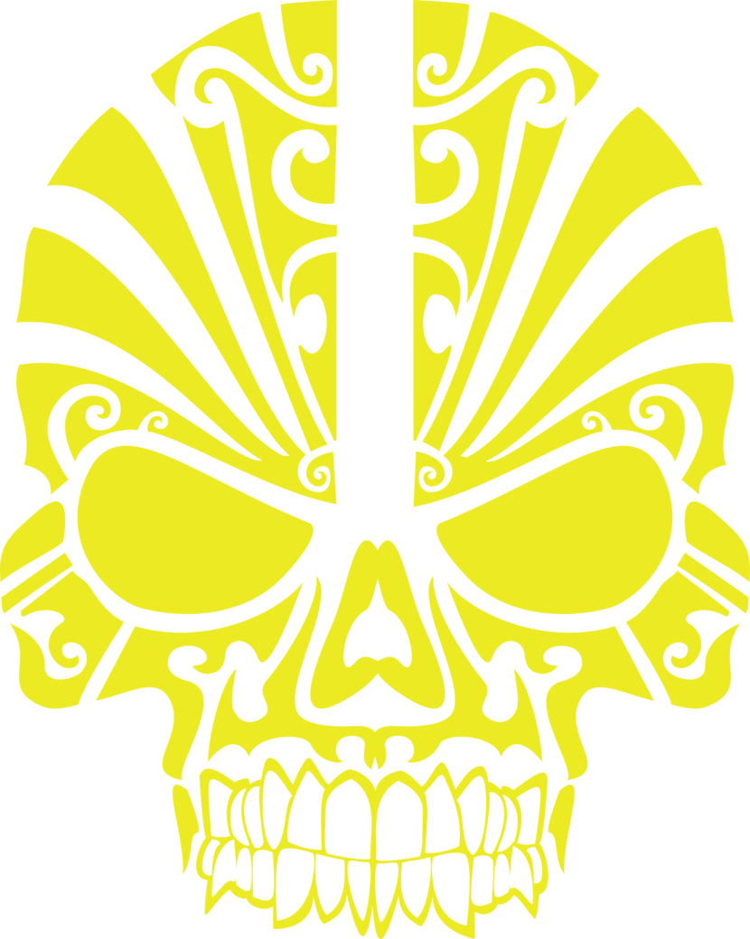 Tribal scull