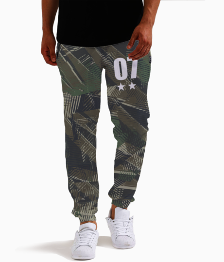Military 5 joggers front