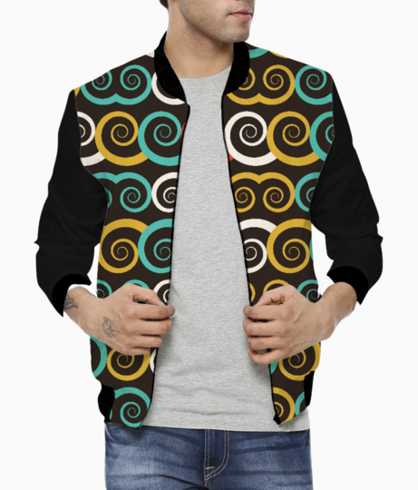 Curl swirl bomber front