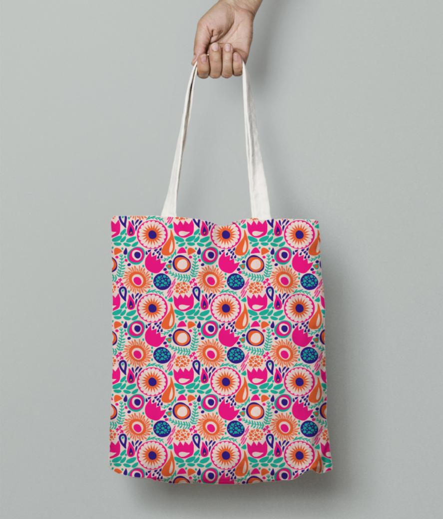 8 tote bag front
