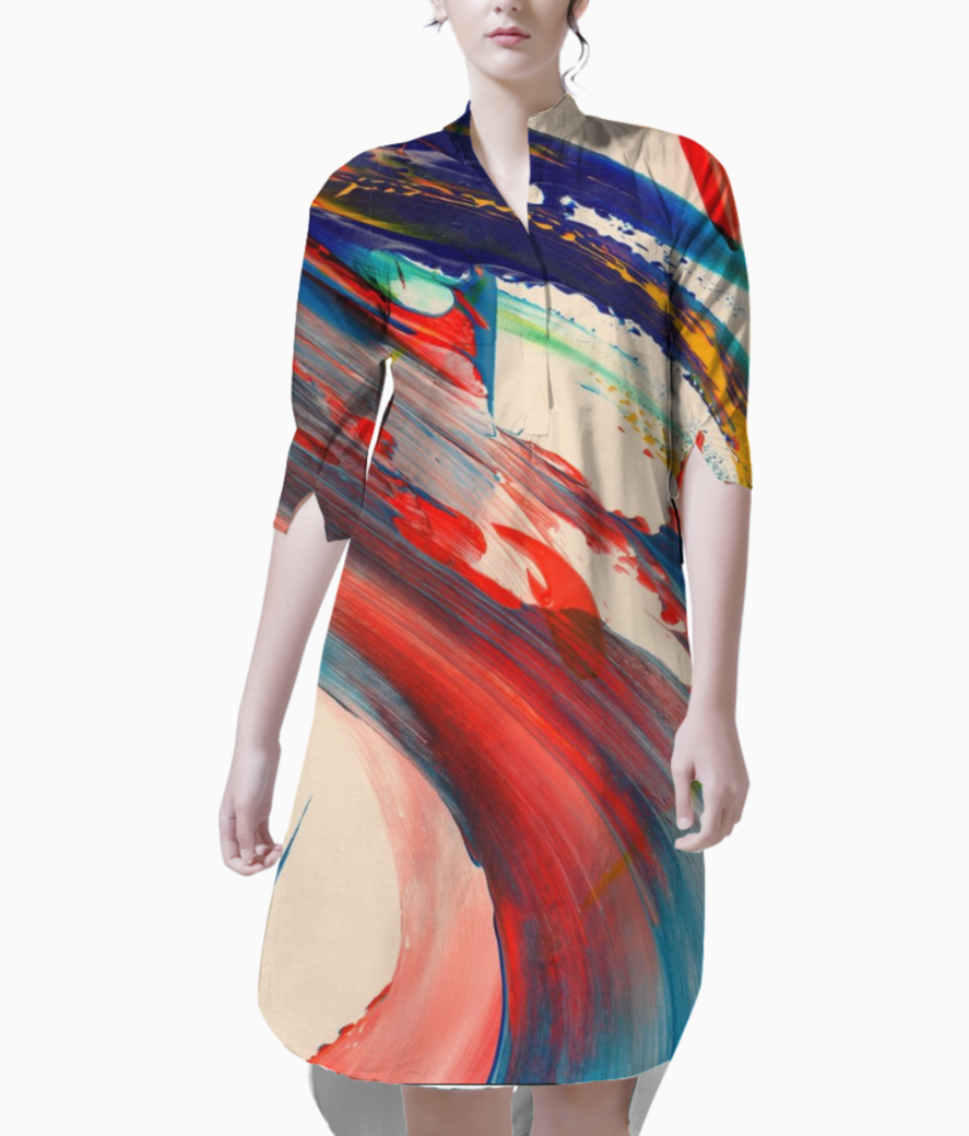 Acbfc09a38d7fdf0ac9e3c9c00c2ae7b  abstract design art abstract kurti front