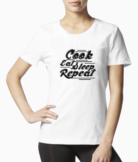Cook eat tee front