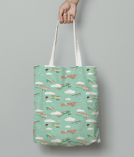 23 tote bag front