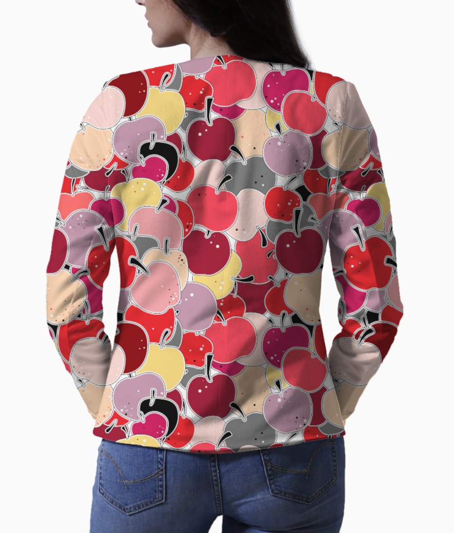 Applelicious blazer back