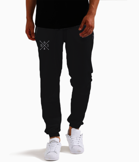 Logo joggers front