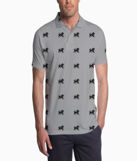 Lion polo t shirt  front