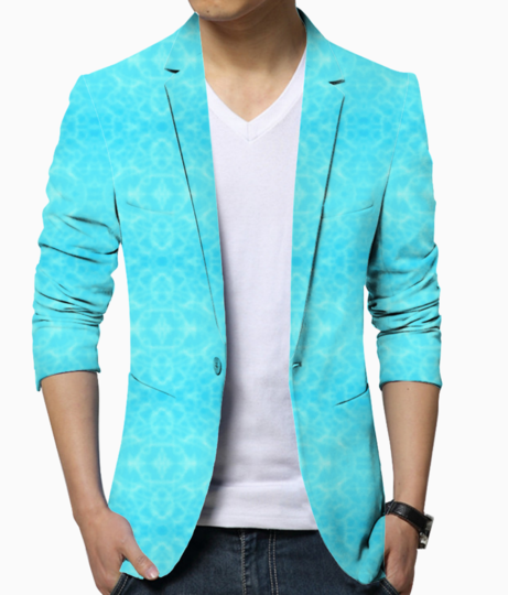 Pool water blazer front
