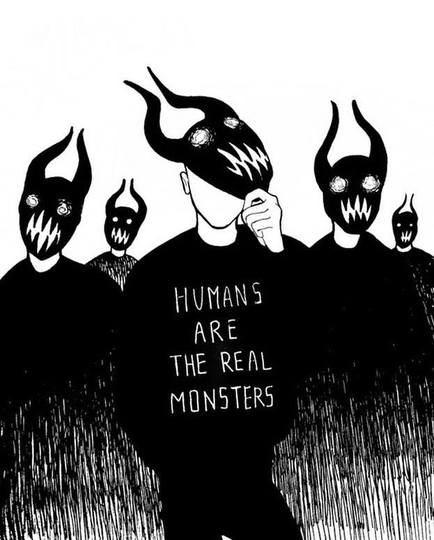 Humans are..