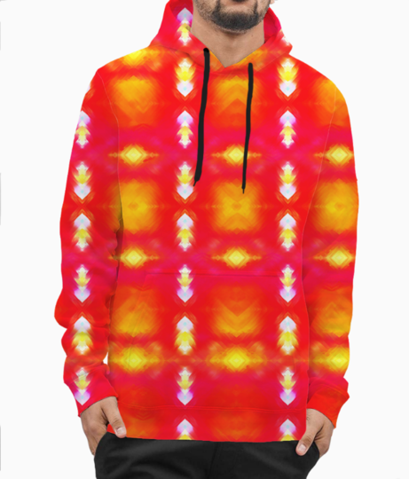 Tileable hoodie front