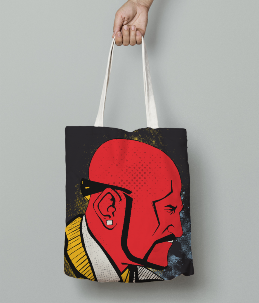 Theboss tote bag front