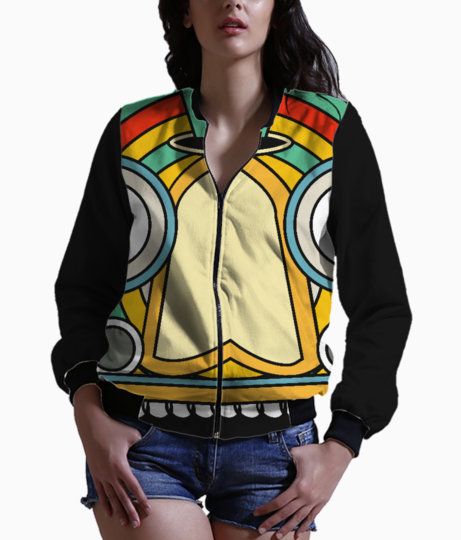 Indian tribal bomber front