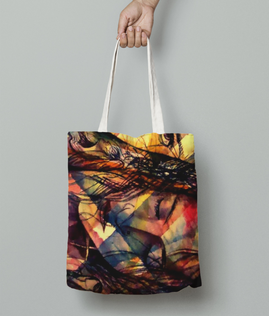 Sleep   copy tote bag front