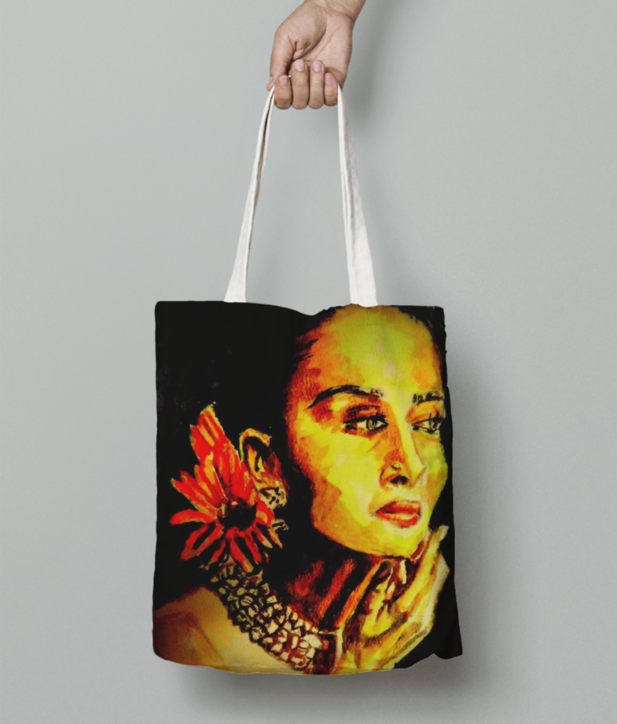 Lp n v big tote bag front
