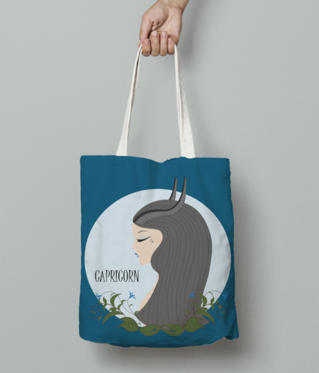 Capricorn 1 tote bag front