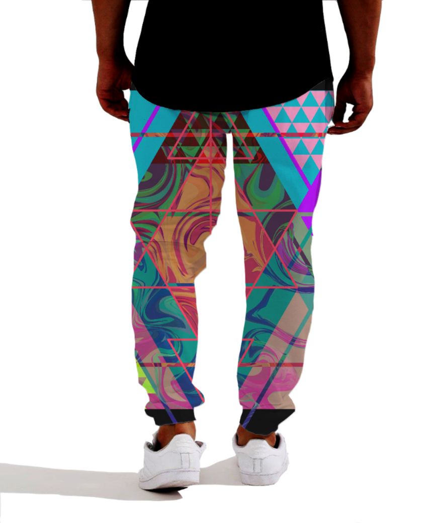 Artlife allover joggers back