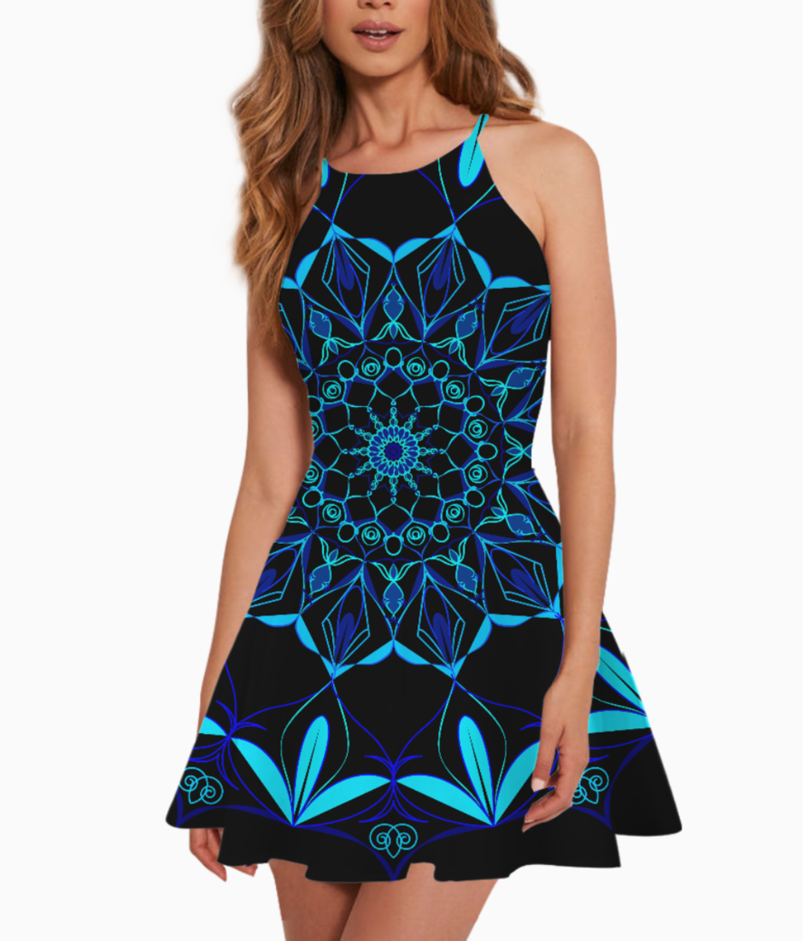Mandala12 summer dress front