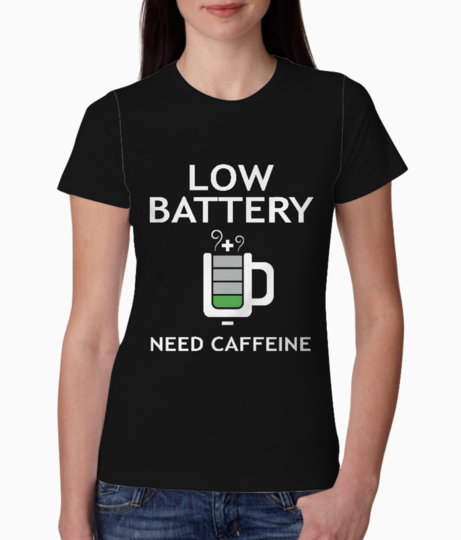 Need caffine tee front