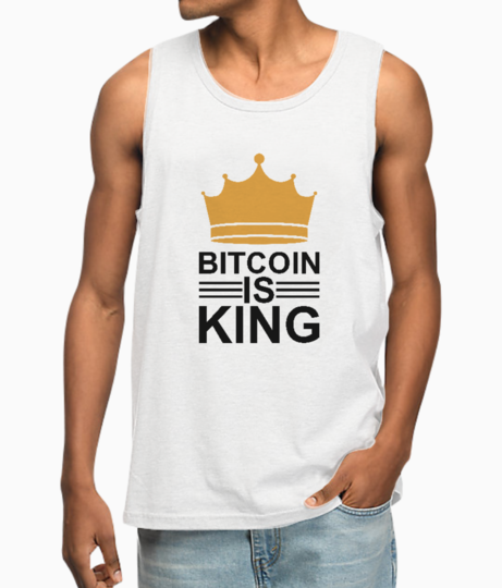 Bitcoin king vest front